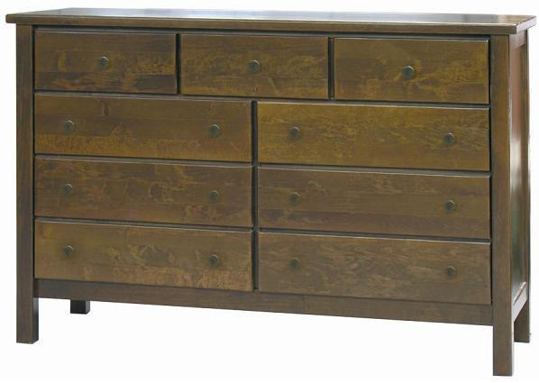 Dark Brown Chest of Drawers